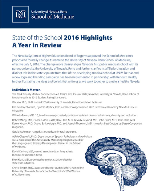 State of the School 2016 Highlights