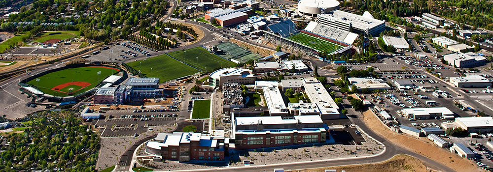 Aerial View of the School of Medicine at UNR