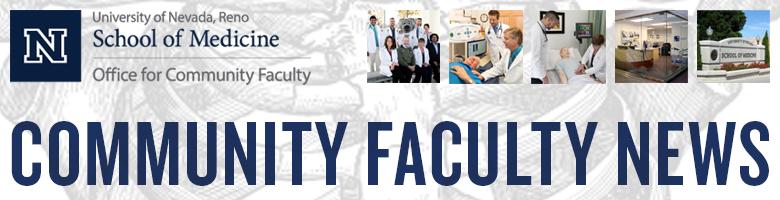 Community Faculty News