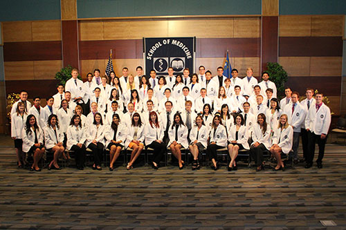 Med students at White Coat