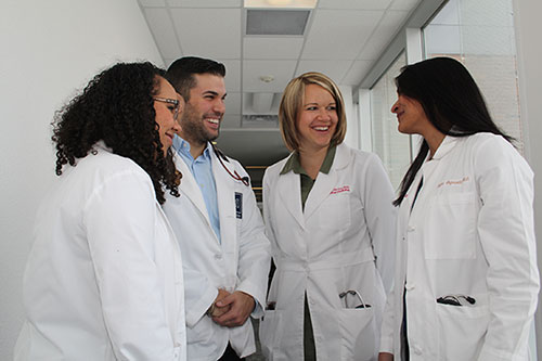 UNR Med Faculty and Students