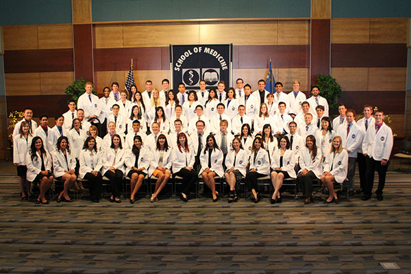 UNR Med Students at White Coat
