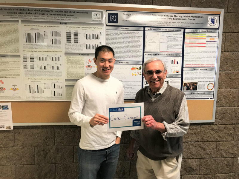 Irvin Ma and Ron Pardini, Ph.D.