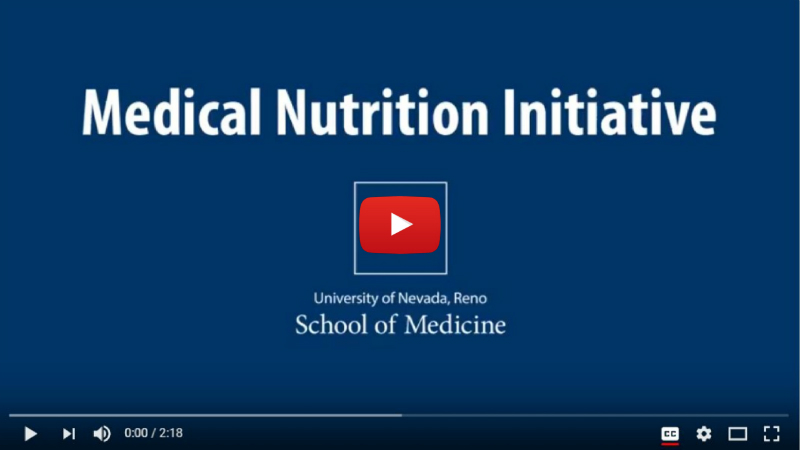 Medical Nutrition Initiative Video Thumbnail