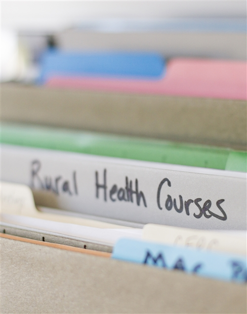 Physician Assistant information folders.