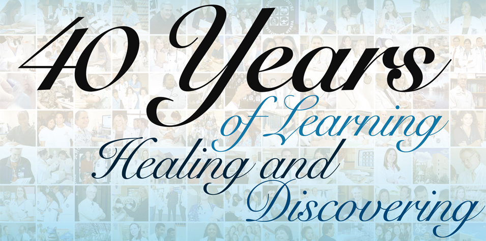 40 years of learning, healing and discovering