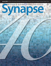Cover for Synapse Spring 2009