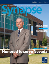Cover for Synapse Fall 2011