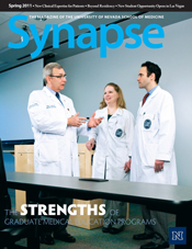 Cover for Synapse Spring 2011