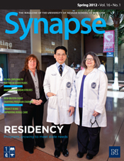 Cover for Synapse Spring 2012