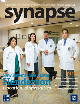 Cover for Synapse Fall 2014