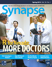 Cover for Synapse Spring 2014