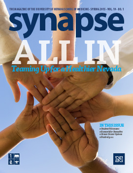 Cover for Synapse Spring 2015