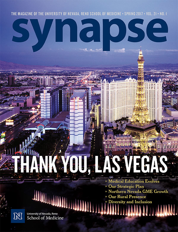 Cover for Synapse Spring 2017