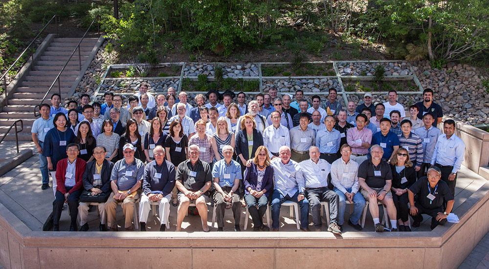 Group photo of the symposium participants